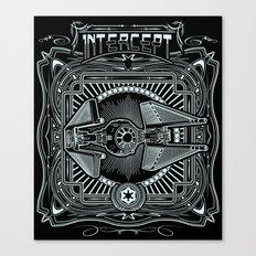 Intercept Canvas Print