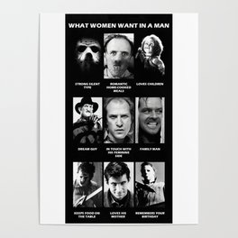 What Women Want Horror Poster