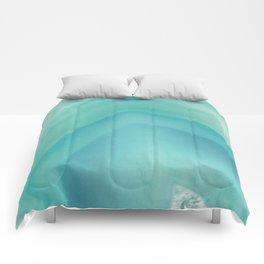 Geode Crystal Turquoise Comforters