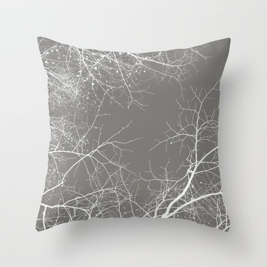 Branches Impressions I Throw Pillow
