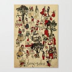 Fairy Tales Poster Print Canvas Print