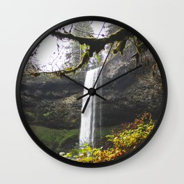 Along The Way Wall Clock