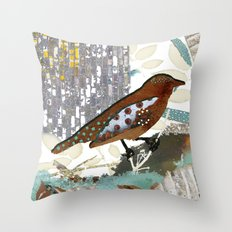 The Sea Is Calling Throw Pillow