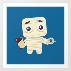 MUMMY'S BOY Art Print