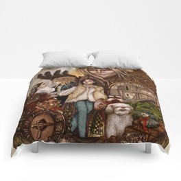 Labyrinth Tribute Comforters