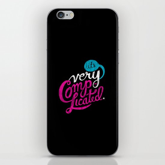 It's Very Complicated iPhone & iPod Skin