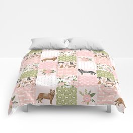 Australian Cattle Dog cheater quilt pattern dog lovers by pet friendly Comforters