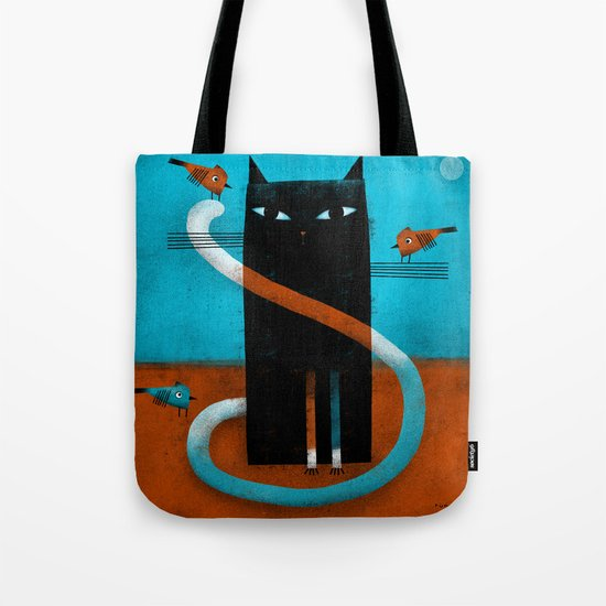 OFFSET WHISKERS Tote Bag