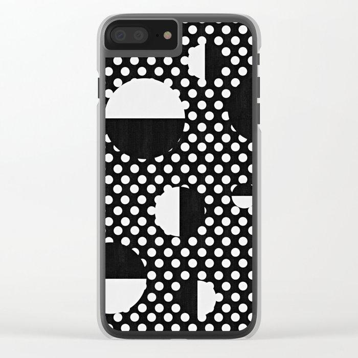 It's Black, It's White Clear iPhone Case