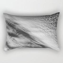 Cloud 01 (B&W) Rectangular Pillow