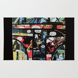 Boba Fett Collage Rug