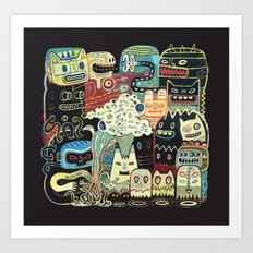 Incantations Art Print