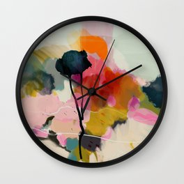 paysage abstract Wall Clock