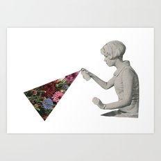 Flower Spray Art Print