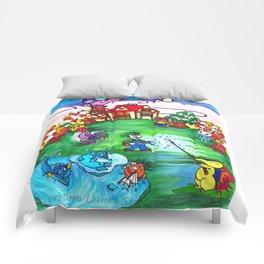 Animal crossing invasioni  Comforters
