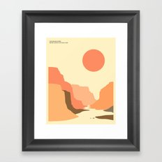 GRAND CANYON NATIONAL PARK Framed Art Print
