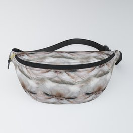 Muggles, the Sassy Cat with Cattitude! Fanny Pack