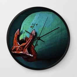 Freighter Anchor Wall Clock
