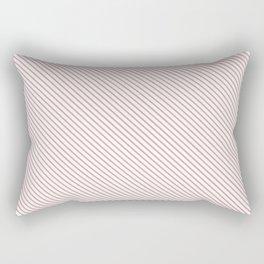 Bridal Rose Stripe Rectangular Pillow