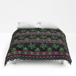 Ornament cactus Comforters