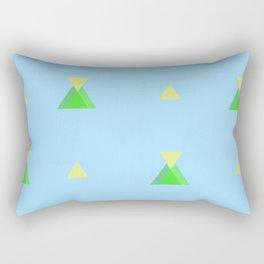 Fantasia a Triangoli Rectangular Pillow