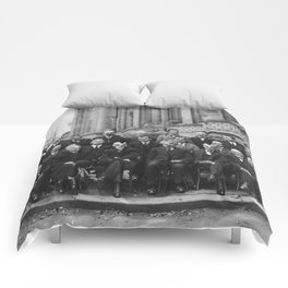 1927 Solvay Conference on Quantum Mechanics Comforters