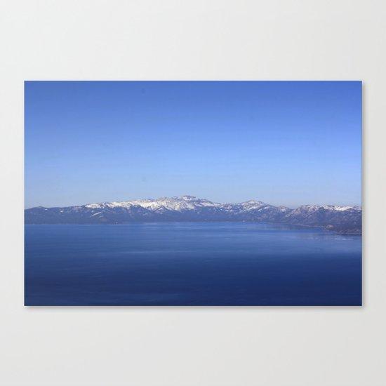 Mt Rose and Slide Mt Canvas Print