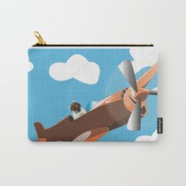 When Pugs Fly Carry-All Pouch