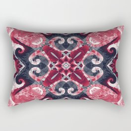 Hearts and Twisters Rectangular Pillow