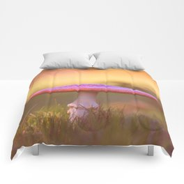 Fly agaric mushroom Comforters