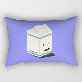 Cute kawaii milk carton Rectangular Pillow