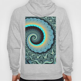 The Mother of All, Abstract Fractal Art Hoody
