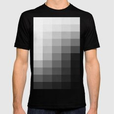Fifty Shades of Gradient Mens Fitted Tee Black LARGE