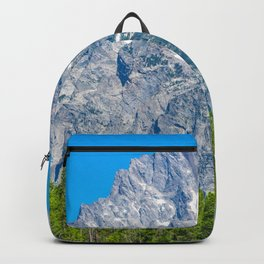 Rocky Mountains Nature Grand Teton National Park Wyoming Print Backpack