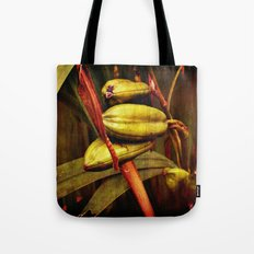 Hanging over the pond Tote Bag