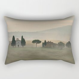 Pastel morning in Toscany Rectangular Pillow