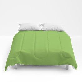 GREENERY PANTONE 15-0343 Green Comforters