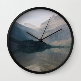 Grinnell Lake Wall Clock