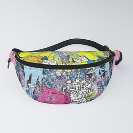 Jx3 Gallery - Clock Fanny Pack