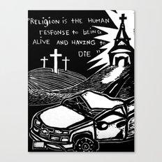 Religion? Canvas Print