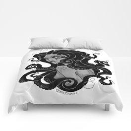 Inktober Tentacles Comforters