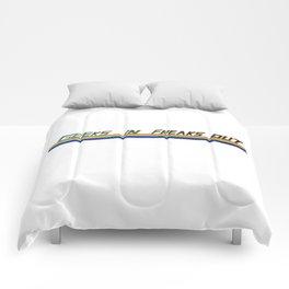 Geeks in freaks out ! Comforters