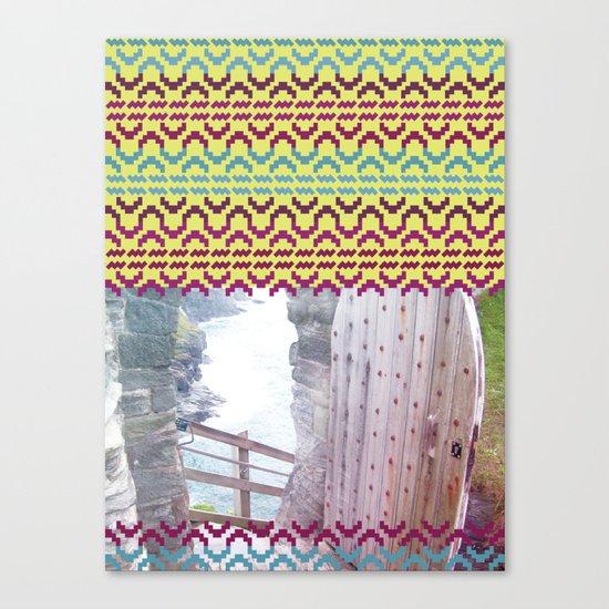 AZTEC 'Door Into Summer'_1-2 Canvas Print