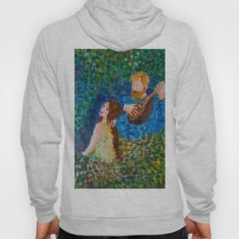 You paint my entire world Hoody