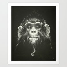 Prisoner (Original) Art Print