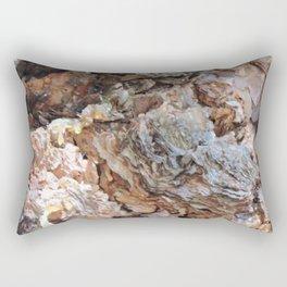 TEXTURES: Weeping Big Cone Pine Bark Rectangular Pillow