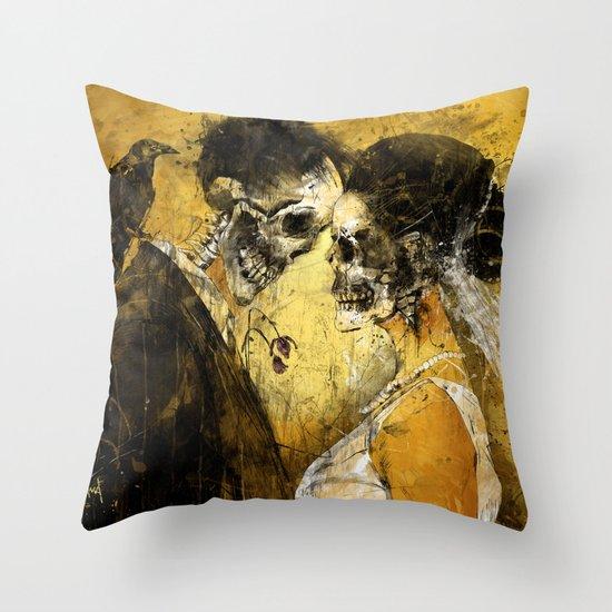 'Til Death do us part Throw Pillow