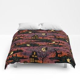 Halloween Night - Bonfire Glow Comforters
