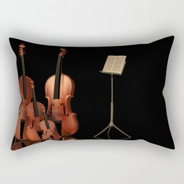 String Instruments Rectangular Pillow
