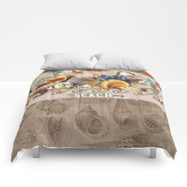 Beachcombers Seashell Paradise Comforters